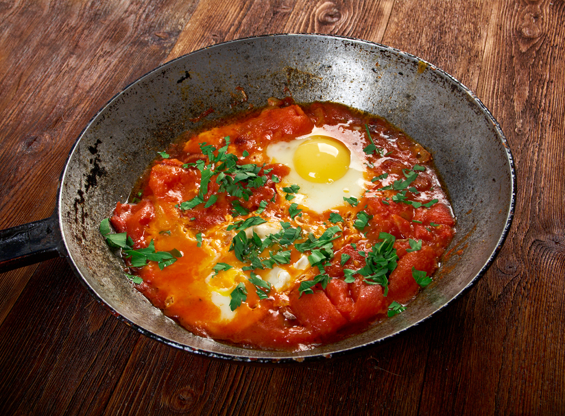 Father's Day Breaky: Moroccan Style Eggs