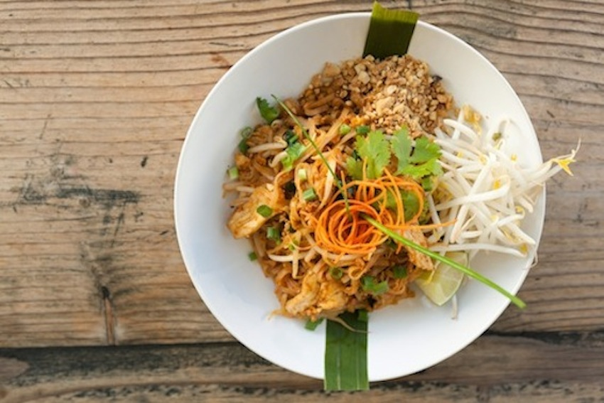 Healthy Noodle-Free Pad Thai